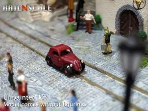 Fiat 500A Topolino (N 1:160) in Smooth Fine Detail Plastic