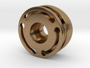 Covertec Wheel For 1.375'' OD in Natural Brass