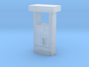 2000''s Gas Pump - Z scale in Frosted Extreme Detail