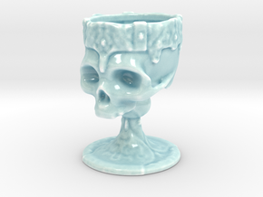 Wolnir's Goblet in Gloss Celadon Green Porcelain