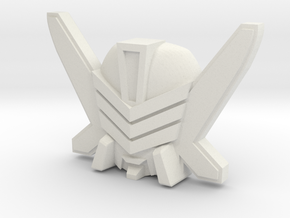 Exhaust / Marlboor Wheeljack Face (Titans Return) in White Strong & Flexible