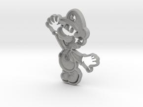Paper Luigi in Aluminum
