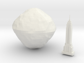 101955 Bennu & Empire State Building  in White Strong & Flexible