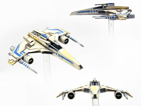 E-Wing Variant - Tri-Cannon 3pack in Frosted Extreme Detail