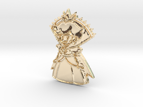 The Shadow Queen (Phase One) in 14K Yellow Gold