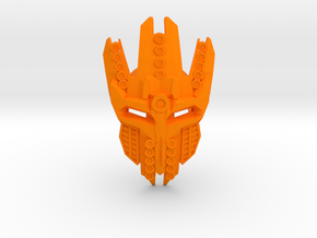 Mask Of Particle Beam Travel - For Sale At Cost in Orange Strong & Flexible Polished