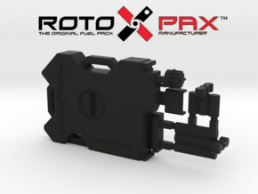 AJ10042 RotopaX Storage Pack - BLACK in Black Strong & Flexible