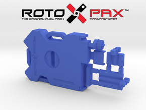 AJ10041 RotopaX 2 Gallon Fuel Pack - BLUE in Blue Processed Versatile Plastic