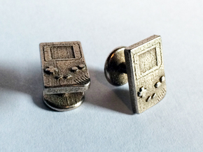 Game Boy Cufflinks in Stainless Steel