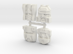 Armada Decepticon 4-Pack (Titans Return) in White Natural Versatile Plastic