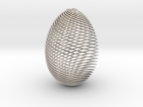 Designer Egg in Platinum