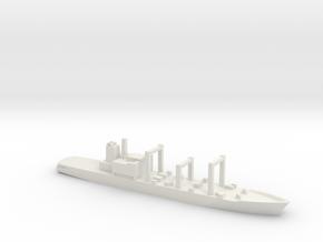 Towada-class replenishment ship, 1/1800 in White Natural Versatile Plastic