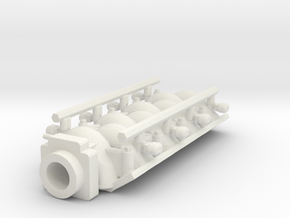 SBC Intake FAST 1/24 in White Strong & Flexible