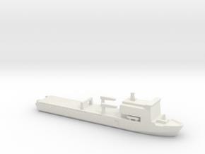 Bay-class landing ship, 1/3000 in White Natural Versatile Plastic