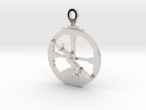 Mariner's Astrolabe  in Rhodium Plated Brass