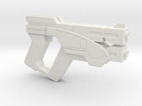 Predator Pistol in White Natural Versatile Plastic