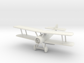 1/144 or 1/100 Sopwith Pup in White Natural Versatile Plastic: 1:100