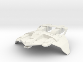 Federation Tactical Fighter in White Strong & Flexible