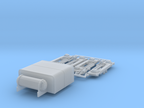 N-scale Whitcomb 65 Ton Accessories in Smoothest Fine Detail Plastic