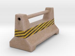 ConcreteBarrier in Full Color Sandstone