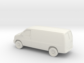 1/43 2003-14 Chevrolet Express Van in White Natural Versatile Plastic