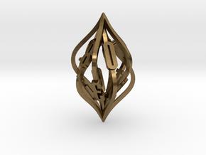 'Kaladesh' D10 Balanced Gaming die in Natural Bronze