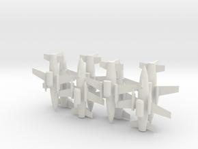 1/285 MQ-19 LCASD (x8) in White Natural Versatile Plastic