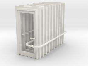Door Type 1 - 900 X 2000 X 10 in White Natural Versatile Plastic: 1:76