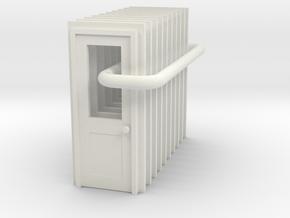 Door Type 3 - 900 X 2000 X 10 - HO Scale in White Strong & Flexible