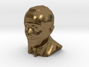 Marcelo Rebelo de Sousa 3D Model in Natural Bronze