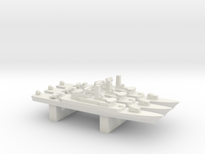 Alvand-class frigate (w/ C-802 AShM) x 3, 1/3000 in White Natural Versatile Plastic