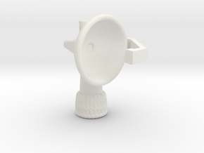 1/500 Scale SPS-30 Radar in White Natural Versatile Plastic