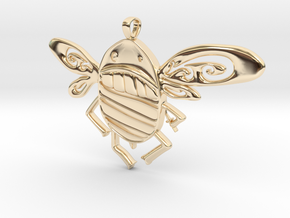 Killer Bee  in 14K Yellow Gold