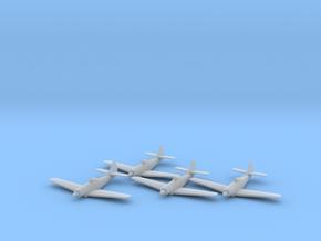 Boeing XF8B 1:200 x4 FUD in Smooth Fine Detail Plastic