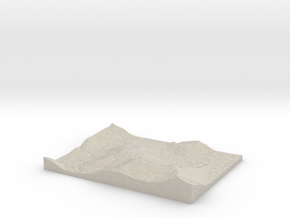 Model of Trace Creek in Sandstone
