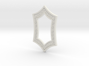 Melisandre's Medallion in White Natural Versatile Plastic