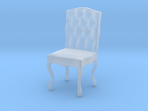 Tufted Dining Chair in Smooth Fine Detail Plastic: 1:48