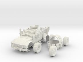 1/72 MATV (Open) Includes Turret and wheels in White Natural Versatile Plastic