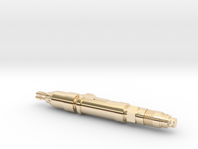 The Master's Laser Screwdriver Pendant in 14k Gold Plated Brass