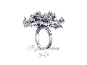 Ring / size 10 HK / 5 US (16.1 mm) in Polished Silver