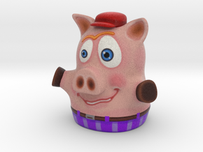 Three Little Pigs Puppet 001 in Full Color Sandstone