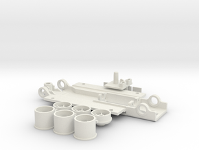 CFFe Diplomat DC in White Natural Versatile Plastic