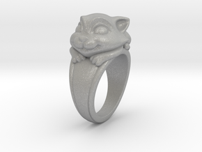 Cat Pet Ring - 18.89mm - US Size 9 in Aluminum