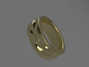 Slices and Rotations in 14K Yellow Gold