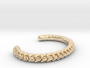 Combine Cuff Medium Narrow in 14k Gold Plated Brass