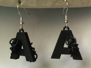 A Is For Ants in Black Natural Versatile Plastic