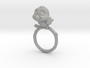 Bird Pet Ring - 18.19mm - US Size 8 in Aluminum