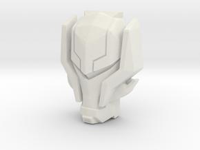 Vehicon, Prime Face (Titans Return) in White Strong & Flexible