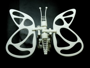 The Butterfly in White Strong & Flexible