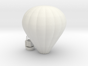 Hot Air Balloon - HOscale in White Natural Versatile Plastic